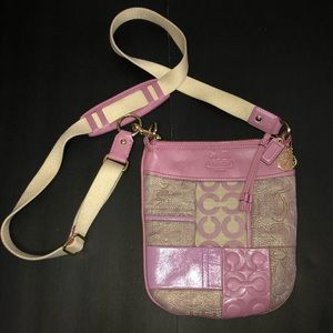 Coach Ali Patchwork Crossbody Swingpack Bag #42683